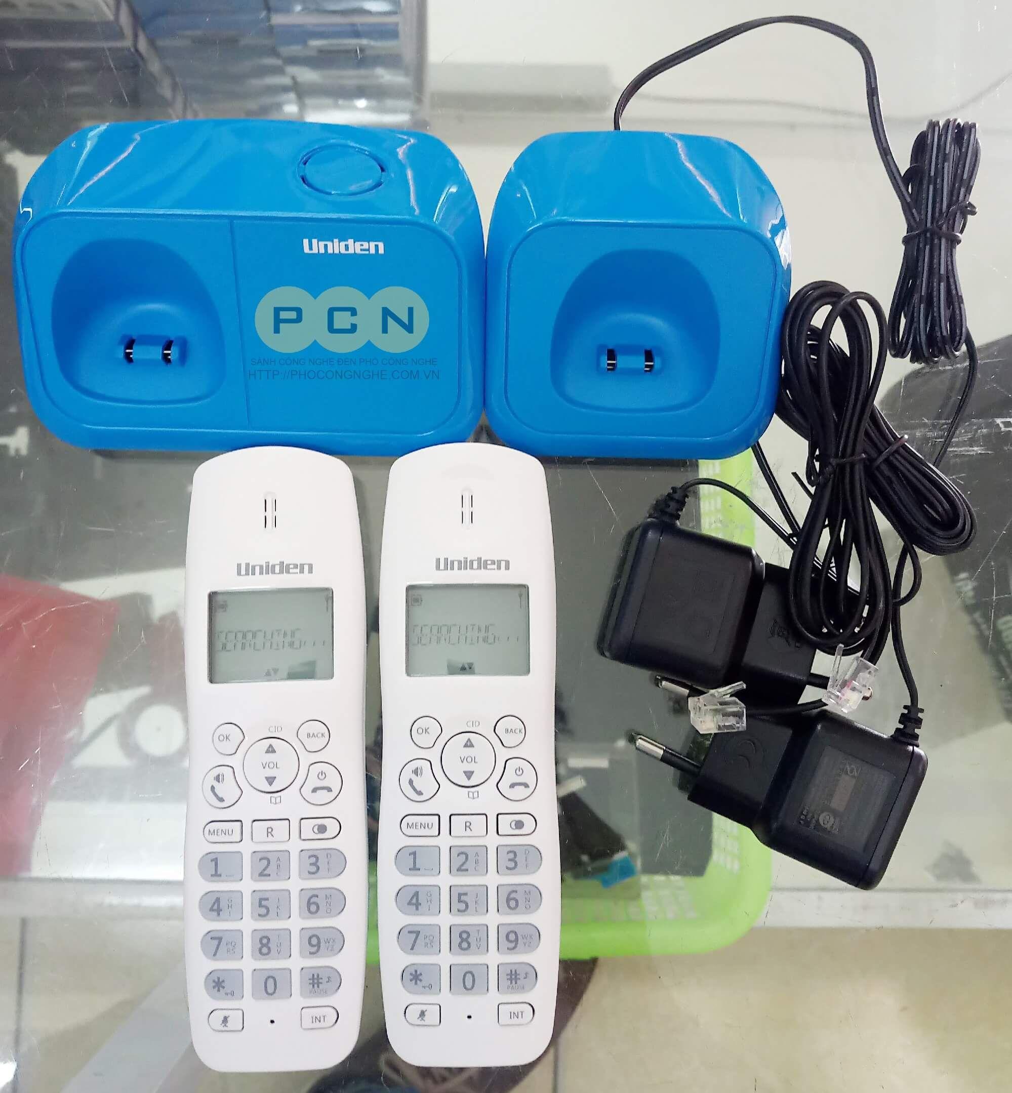 Bộ điện thoại không dây Uniden AT4101-2