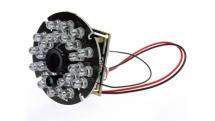 Đèn LED hồng ngoại có ý nghĩa như thế nào với camera giám sát?