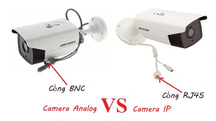 Cách phân biệt camera IP và camera Analog