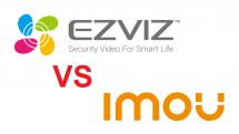 So sánh Camera Ezviz và Imou! Thương hiệu camera tin dùng nhất hiện nay