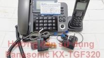 Hướng dẫn sử dụng điện thoại mẹ con Panasonic KX-TGF320