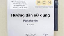 Hướng dẫn sử dụng bộ tiếp sóng chuông hình Panasonic VL-FAN2