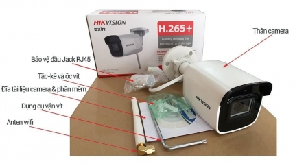 Giới thiệu Camera IP wifi 2MP Hikvision DS-2CD2021G1-IDW1
