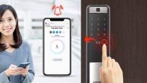 Hướng dẫn cài đặt khóa cửa Samsung SHP-DP609