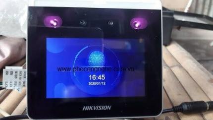 Review máy chấm công nhận diện khuôn mặt HIKvision DS K1T331