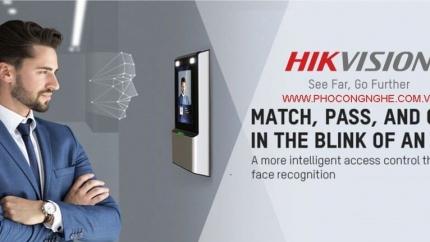 Hướng dẫn cài đặt máy chấm công nhận diện khuôn mặt HIKvision DS K1T606MF