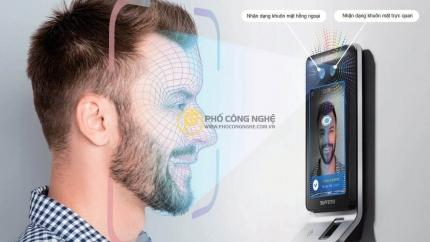Giới thiệu Máy chấm công nhận diện khuôn mặt Suprema FaceStation F2