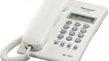 Giới thiệu điện thoại để bàn Panasonic KX-T7703X