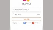 Hướng dẫn thay đổi mật khẩu trên ứng dụng camera Ezviz