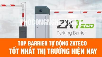 Top barrier tự động ZKTeco tốt nhất thị trường hiện nay