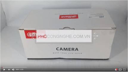 Giới thiệu Camera HD-CVI 2MP Dahua DH-HAC-HFW1200DP-S3