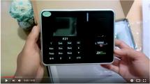 Hướng dẫn cài đặt và sử dụng máy chấm công vân tay ZKTeco K21